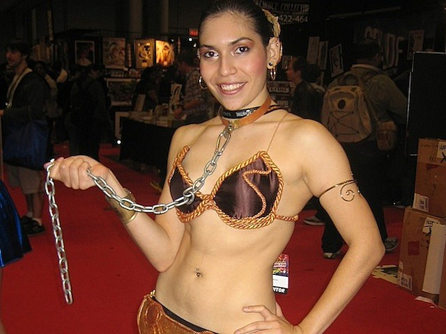 Slave Leia New York Comic Con