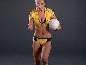 Hot Women Teaching Rugby