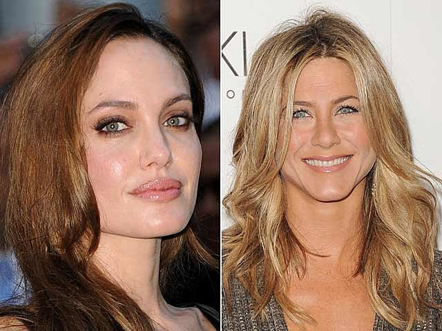 Angelina Jolie, Jeninfer Aniston