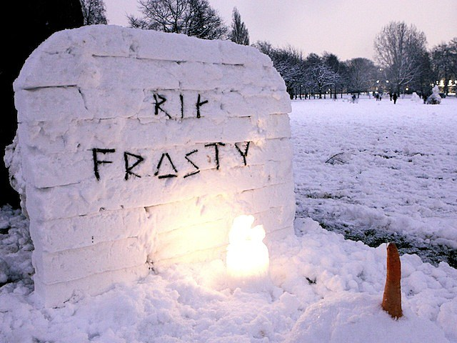 Heavy Snow Falls Across United Kingdom