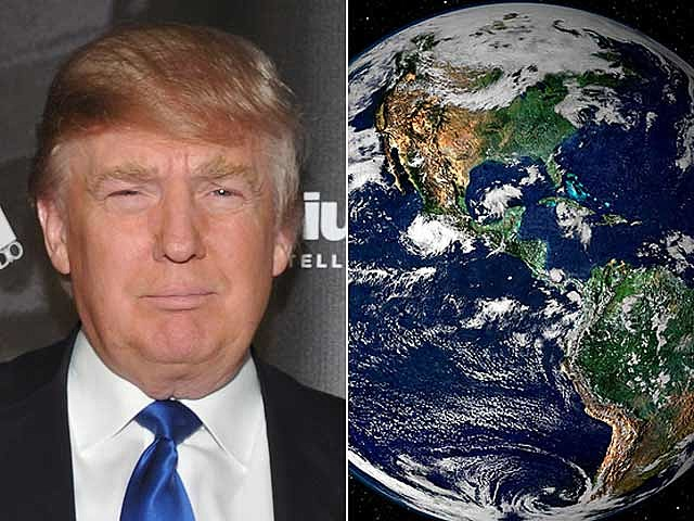 Donald Trump, Earth