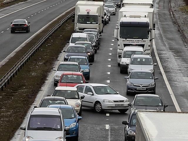 Line of traffic