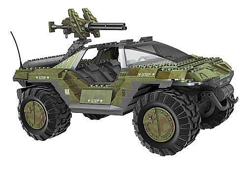 Mega Bloks HALO 10th Anniversary Edition UNSC Warthog
