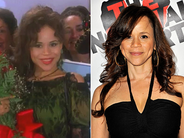 Rosie Perez Then and Now