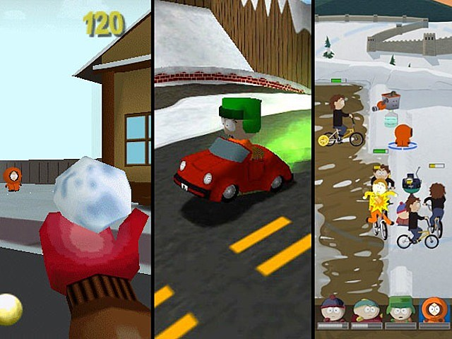 south park video game south park rally south park let's go tower defense play cartman stan kyle kenny comedy central video games
