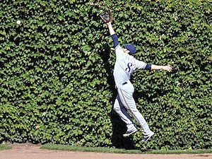 Milwaukee Brewers Chicago Cubs ivy wrigley field baseball