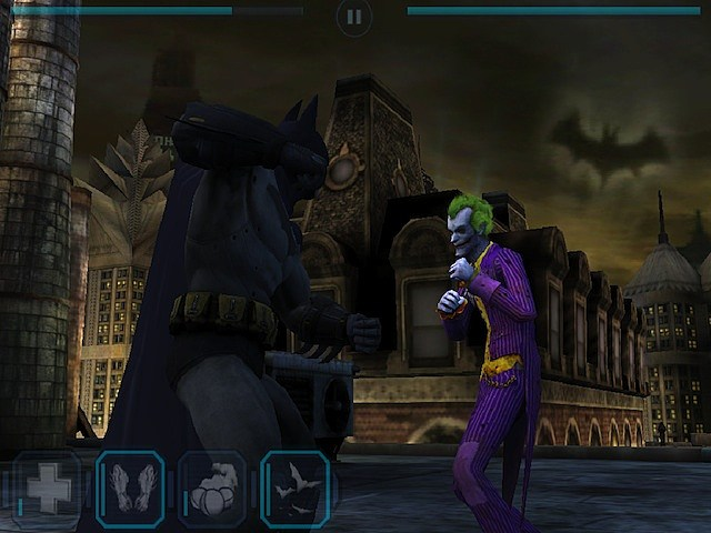 Batman Arkham City Lockdown app iphone ipad ipod touch joker game