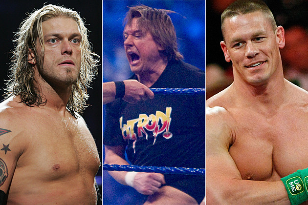 Edge, Roddy Piper, John Cena