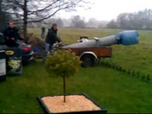 Homemade cannon