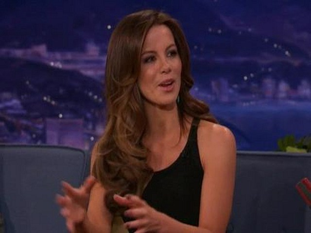Kate Beckinsale Conan
