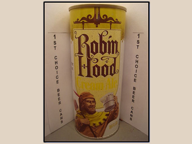 Robin Hood Cream Ale can