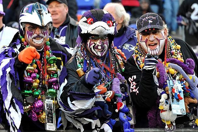 Baltimore Ravens fans