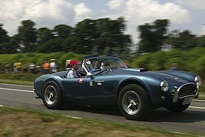 shelby cobra convertible car