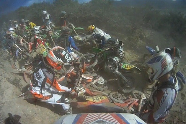 worcs dirt bike pileup glen helen off-road