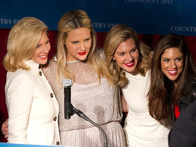 Mary Kaye Huntsman, daughters Liddy, Mary Anne and Abby john huntsman wolf blitzer cnn the situation room