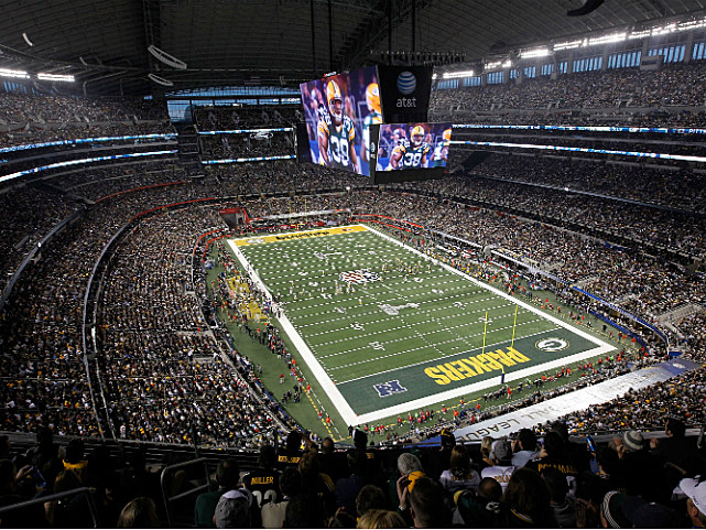 Cowboys Stadium before Super Bowl XLV