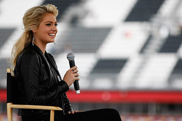 Kate Upton at Daytona 500