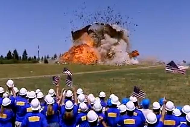 House Explodes