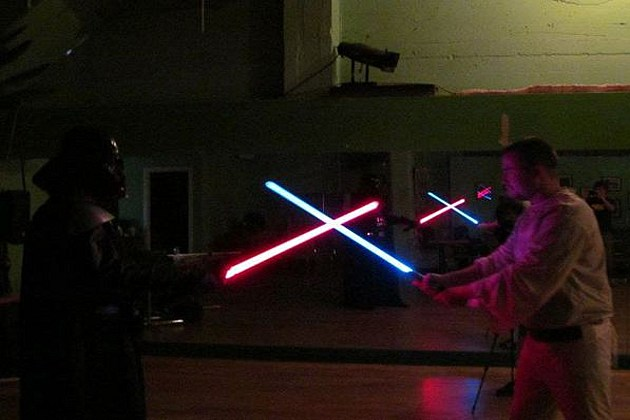 lightsaber training 1