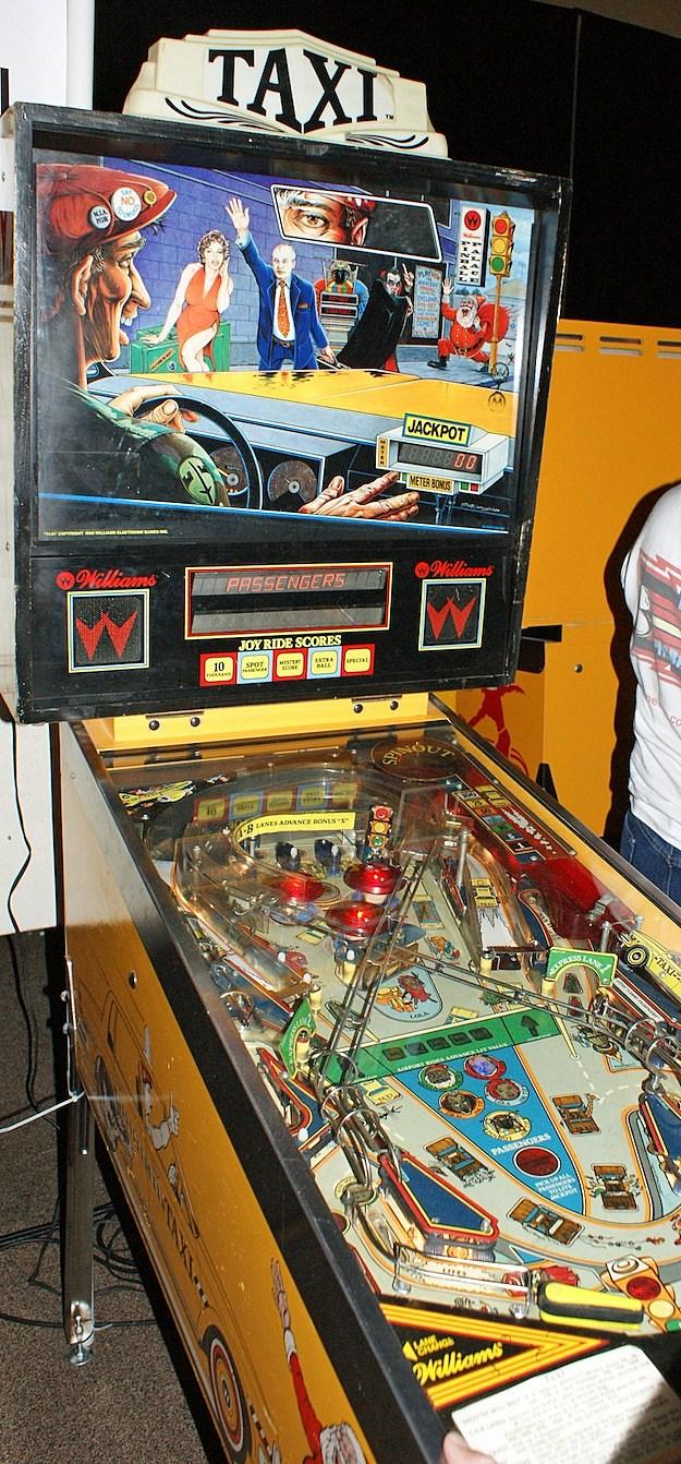 taxi pinball texas pinball festival
