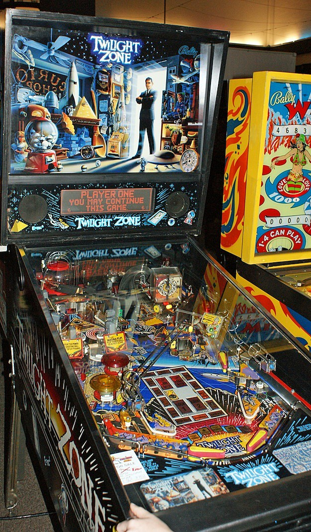 twilight zone pinball williams texas pinball festival
