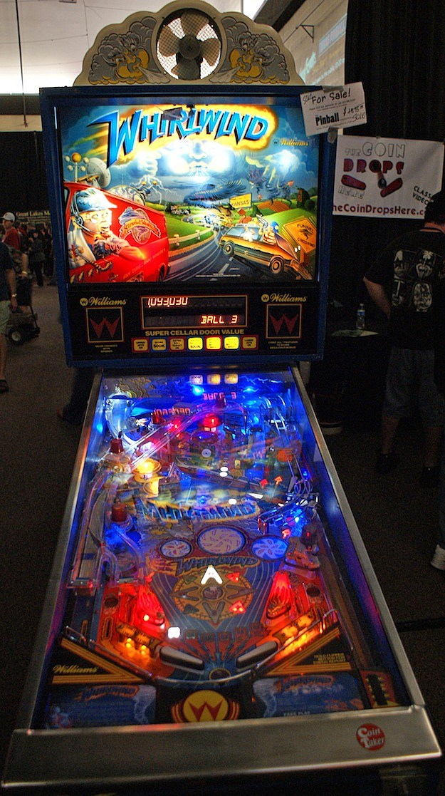 whirlwind pinball williams texas pinball festival