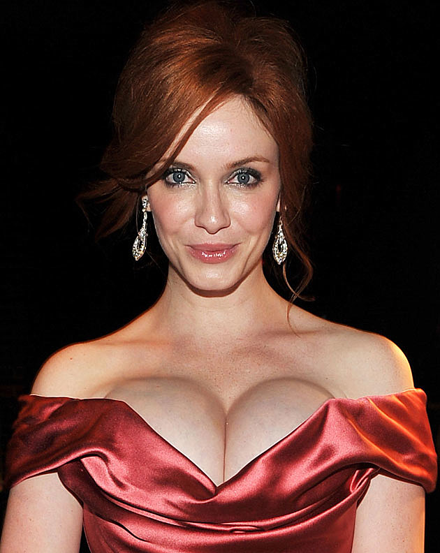 Christina Hendricks pout