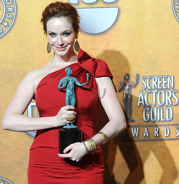 Christina Hendricks SAG award