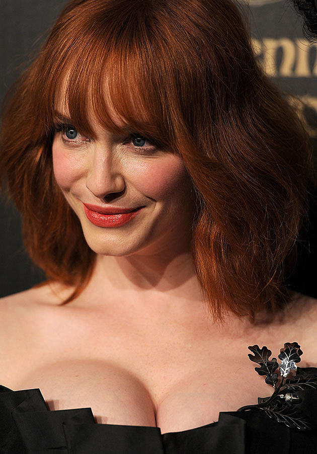 Christina Hendricks smile