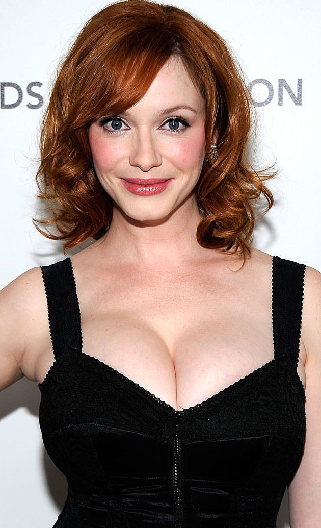 Christina Hendricks smiling