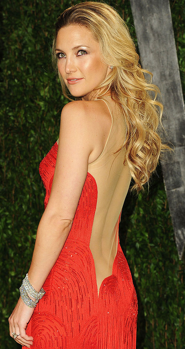 Kate Hudson red dress
