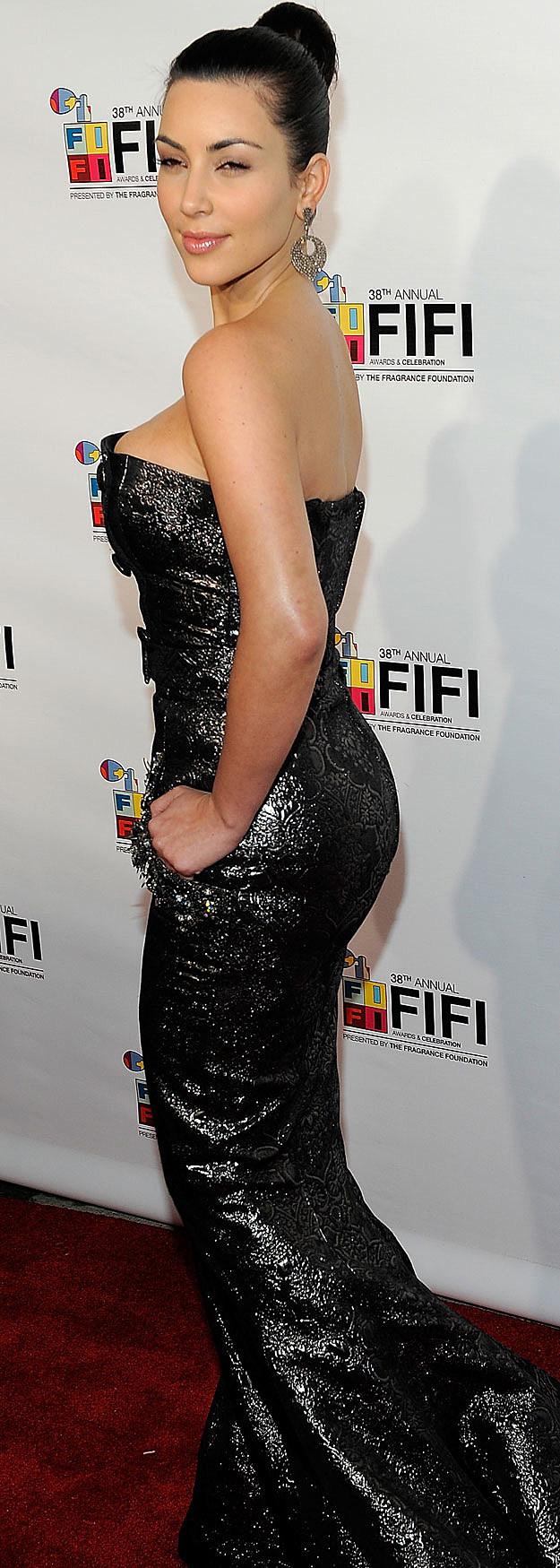 Kim Kardashian curves