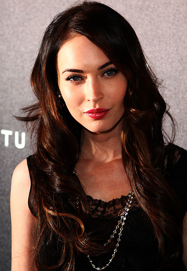 Megan Fox brunette