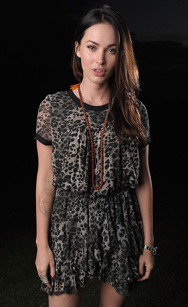 Megan Fox lip pout