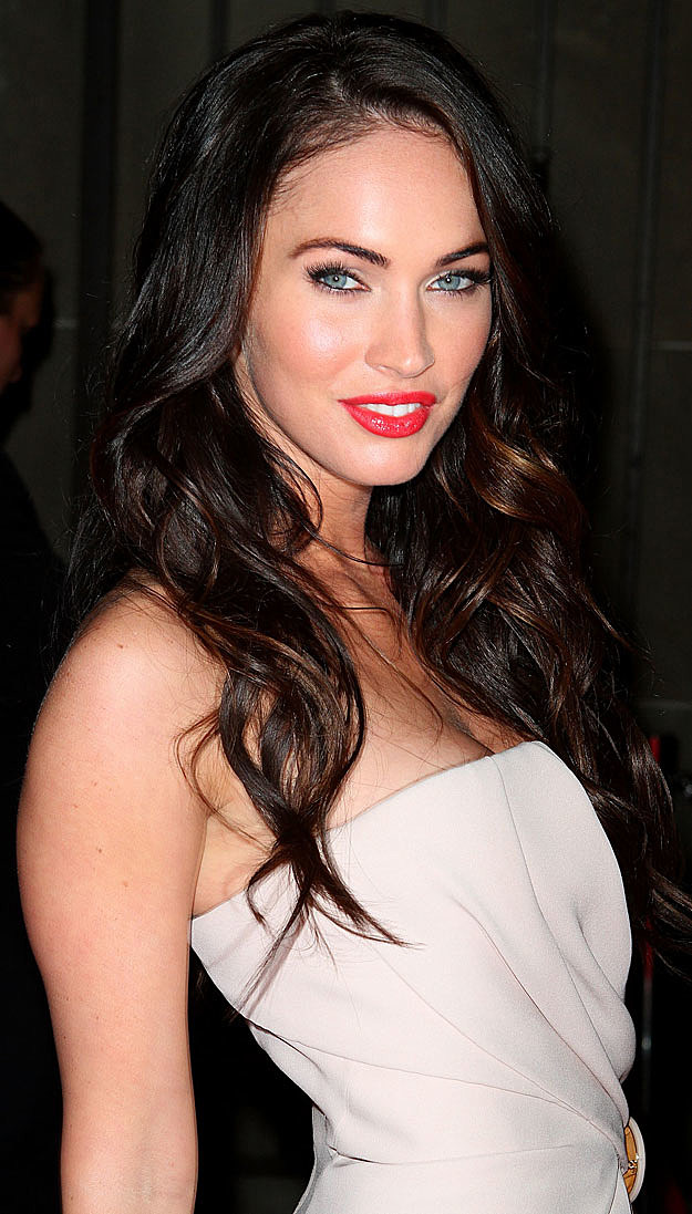 Megan Fox red lips