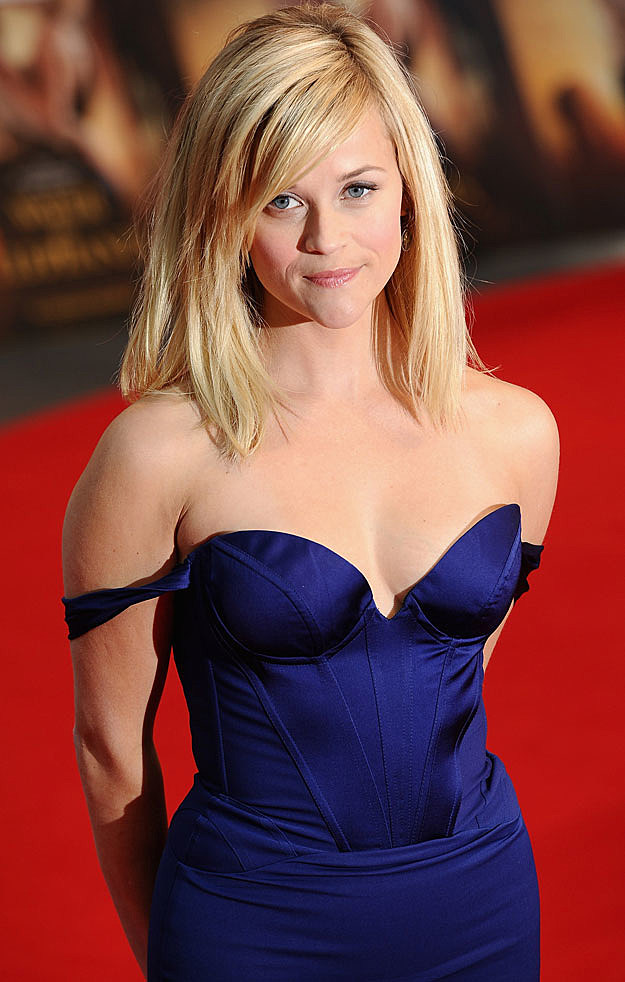 reese witherspoon blue dress