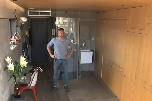 Christian Shallert's tiny luxury apartment