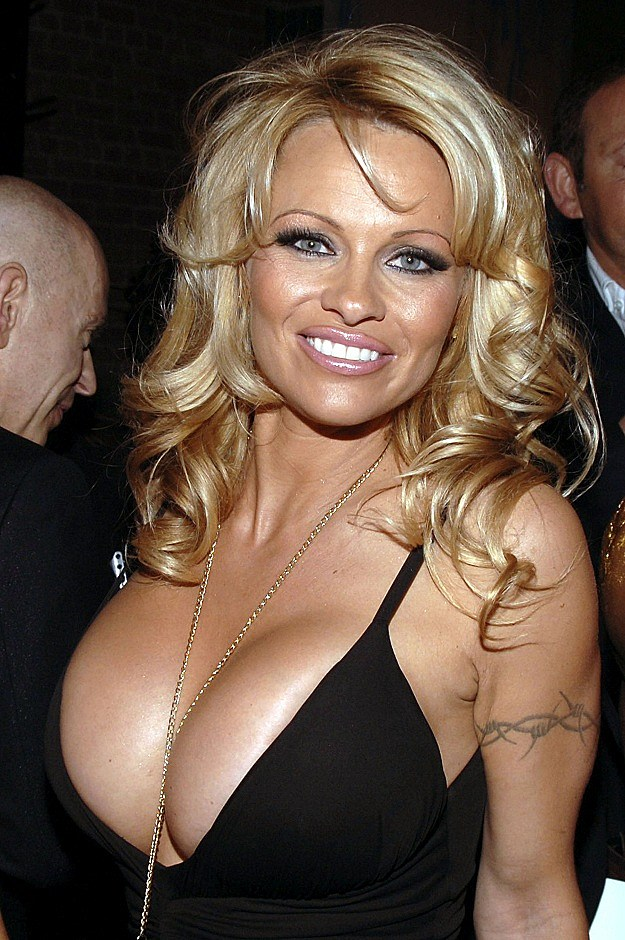 Darcees Blog Event Pamela Anderson At New Year 39s Eve
