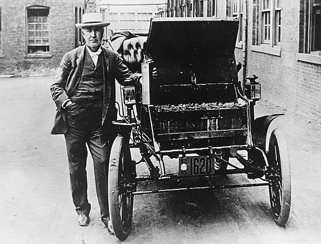 baker electric thomas edison