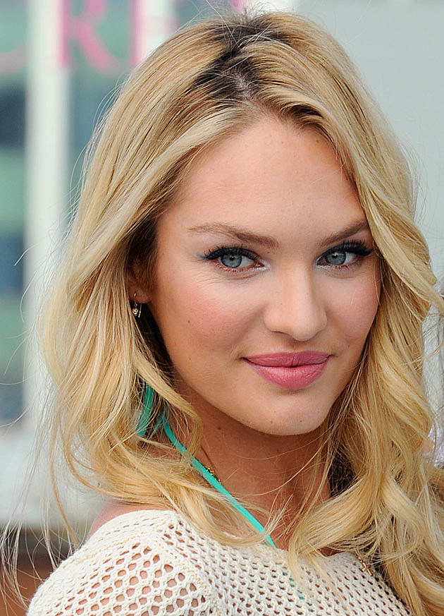 Candice Swanepoel face closeup