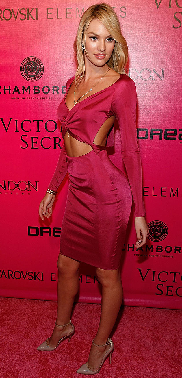 Candice Swanepoel Victoria's Secret red carpet