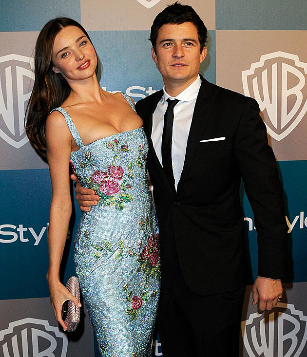 Miranda Kerr Orlando Bloom