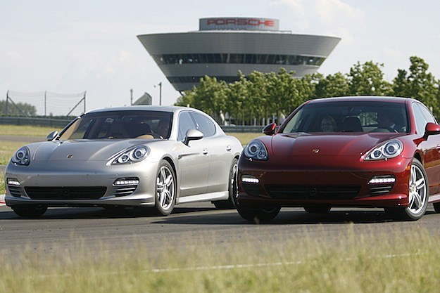 Porsche Starts Panamera Production In Leipzig
