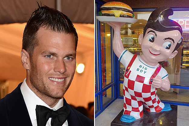 Tom Brady's Bob's Big Boy Hair Cut