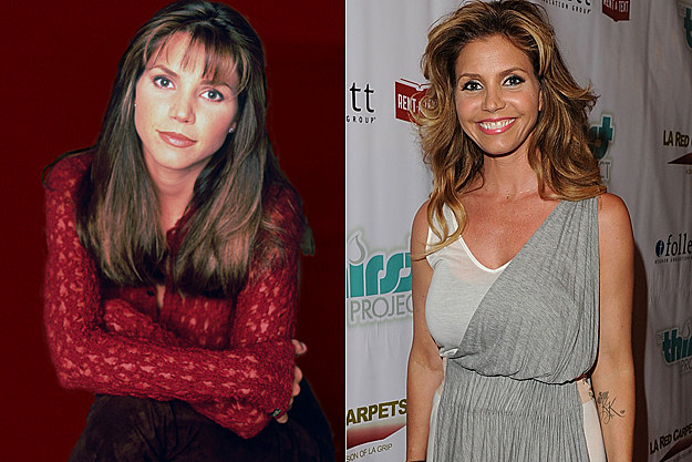 Charisma Carpenter from 'Buffy' then and now