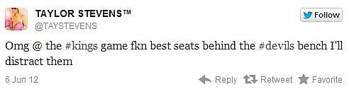 Taylor Stevens twitter