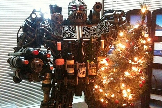 Transformers Wine Rack Feat