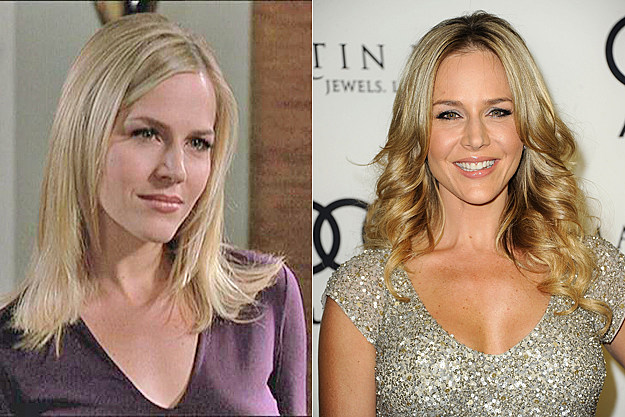 Julie Benz from 'Buffy' then and now
