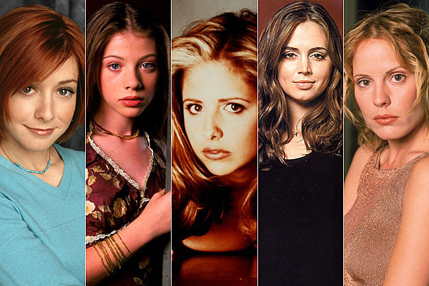 Ladies of 'Buffy' then and now