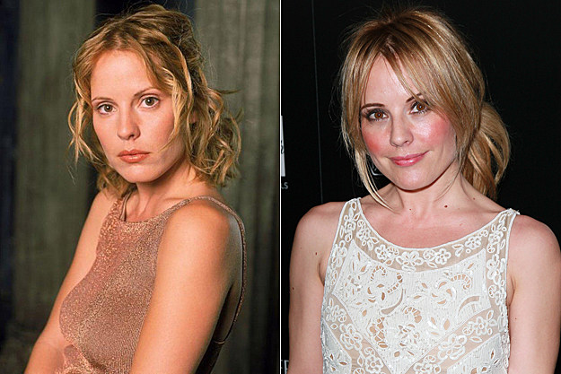 Emma Caulfield from 'Buffy' then and now